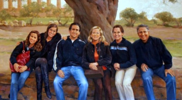 Hinsdale Family Portrait