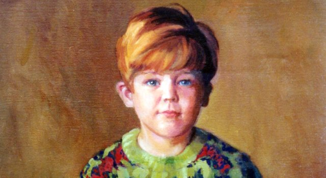 Portraits of Children – Oil Paintings